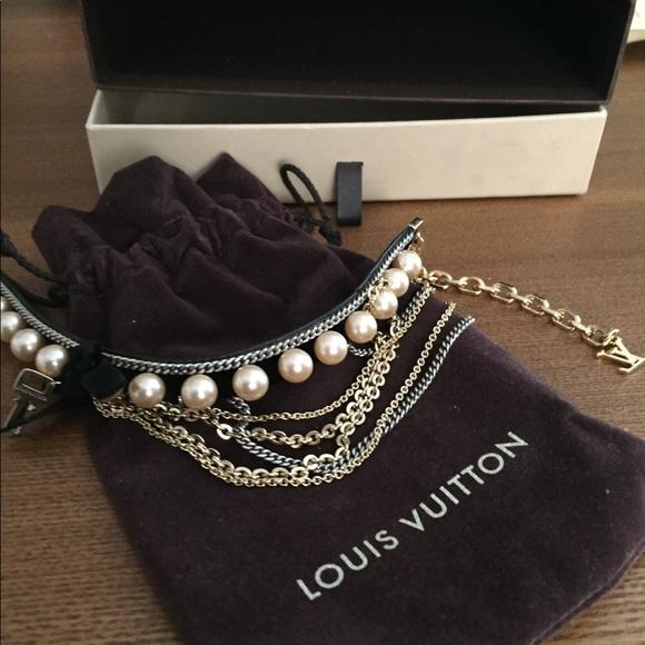 8e85ca7c0a21f Authentic Louis Vuitton Choker Necklace